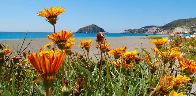 Maronti-Strand auf Ischia