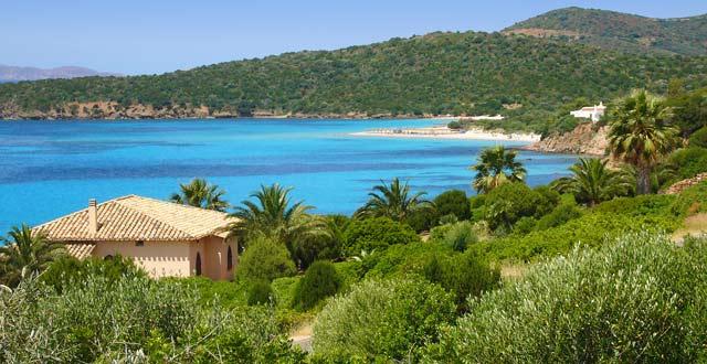 Bucht auf Sardinien