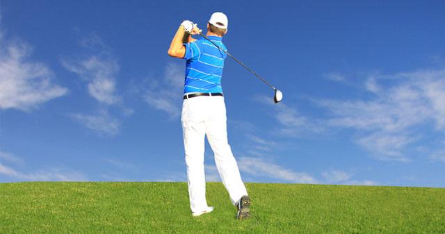 Golf spielen in den Marken